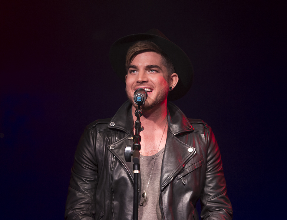 "NEALB.tv: Adam  Lambert  ""Live Proud"" Event"