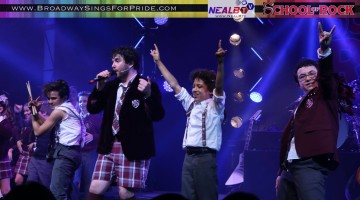 Get ready to ROCK! Let Neal B., founder of Broadway Sings for Pride & NealB.tv, takes you front and center for Andrew Lloyd Webber's newest musical, School of Rock as it makes it's Broadway & world premiere.